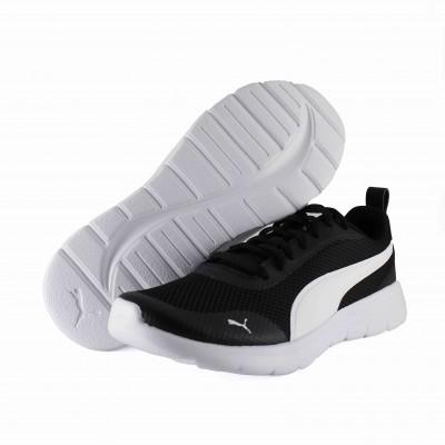 PUMA FLEX RENEW BLACK WHITE