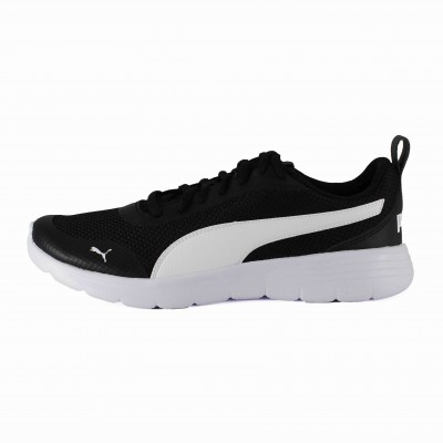 PUMA FLEX RENEW JR BLACK WHITE