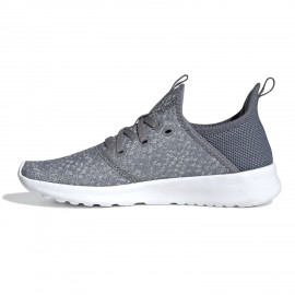 Tenis Gris Adidas Cloudfoam Pure Mujer