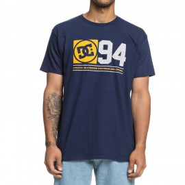 Camiseta Gris Dc Player Seven Tee Heather Hombre