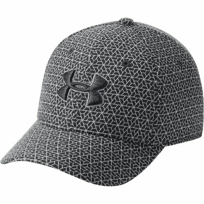 UNDER ARMOUR BOY'S PRINTED BLITZING BLACK STEEL