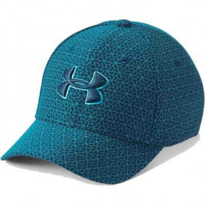 UNDER ARMOUR BOY'S PRINTED BLITZING TECHNOTEAL DECEIT