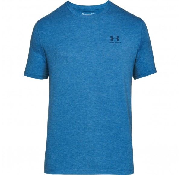 UNDER ARMOUR CC LEFT CHEST LOCKUP MOROCCAN BLUE