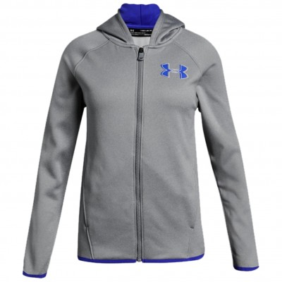 UND GIRLS AF FULL ZIP STEEL LIGHT
