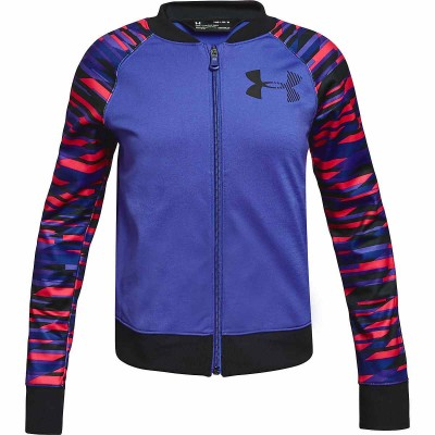 UNDER ARMOUR GIRLS GRAPHIC PURPLE BLACK