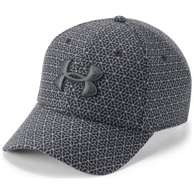 UNDER ARMOUR MEN'S PRINTED BLITZING CHARCOAL