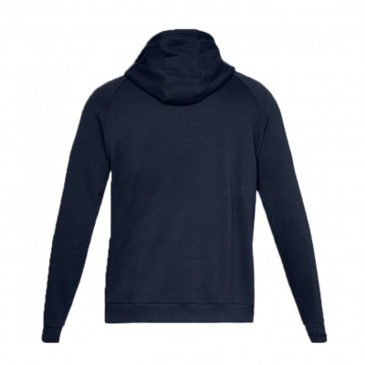 UNDER ARMOUR RIVAL FLEECE HOODIE NVY