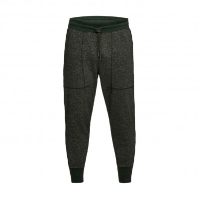 UNDER ARMOUR SPECKLE TERRY JOGGER GREEN BLACK