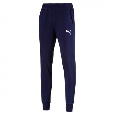 PUMA ESSENTIALS LOGO PANTS PEACOAT