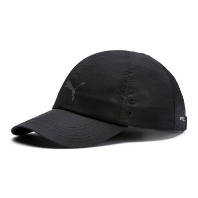 PUMA POLY COTTON CAP BLACK SILVER