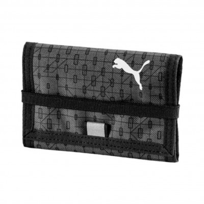 PUMA BETA WALLET BLACK DARK SHADOW