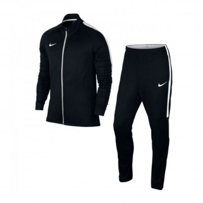 NIKE DRY ACADEMY SUIT BLACK WHITE