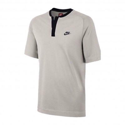 NIKE POLO SPORTSWEAR BONDED LIGHT BONE