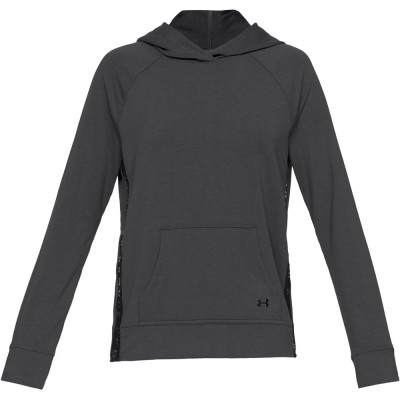 UND WOMENS TRAINING FEARHERWEIGHT FLEECE HOODY NLK