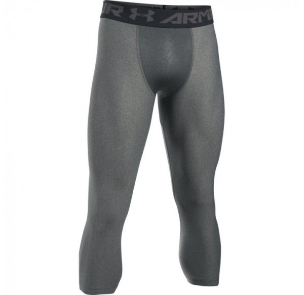 UNDER ARMOUR MENS TRAINING HG SRMOUR 2.0 LEGGING GRY