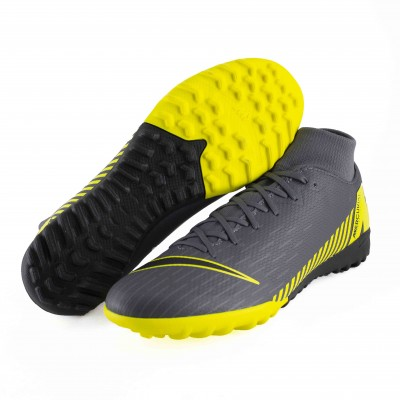 NIKE SUPERFLY 6 ACADEMY TF DAQRK GREY BLACK