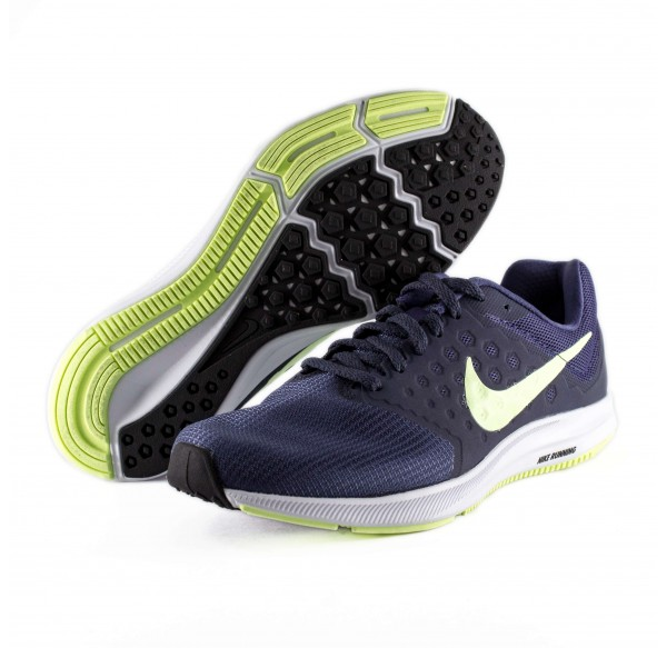 new style 57f20 37b8a NIKE DOWNSHIFTER 7 BLUE GREEN
