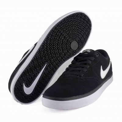NIKE SB CHECK SOLAR BLACK WHITE