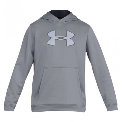 UNDER ARMOUR PERFORMANCE FLEECE HOODIE STEEL BLACK