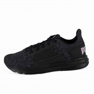PM ENZO STREET KNIT WNS BLACK WINSOME ORCHID