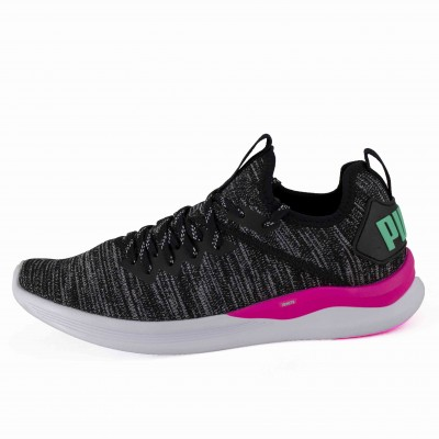 PM IGNITE EVOKNIT WNS BLACK PINK BISCAY GREEN