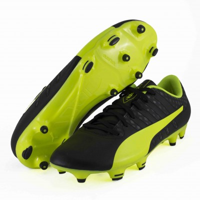 PUMA EVOPOWER VIGOR 4FG PM BLACK SAFETY YELLOW