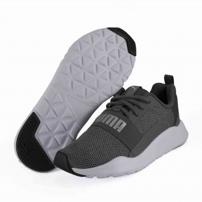 PUMA WIRED KNIT PS IRON GATE SILVER