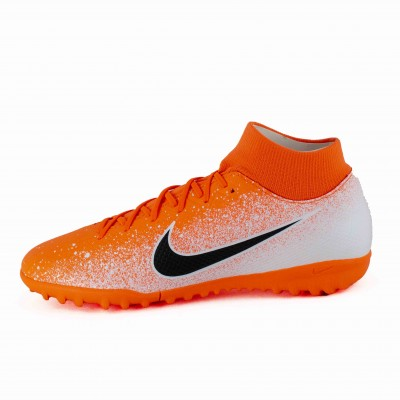 NIKE SUPERFLY 6 ACADEMY TF HYPER CRIMSON BLCK WHITE