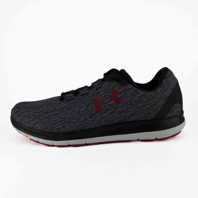 UNDER ARMOUR UA REMIX BLACK STEEL RED