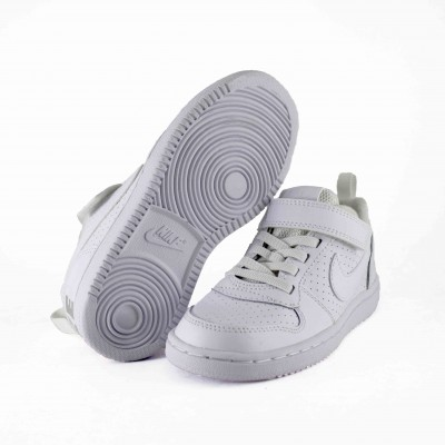 NIKE COURT BOROUGH LOW BPV WHITE""