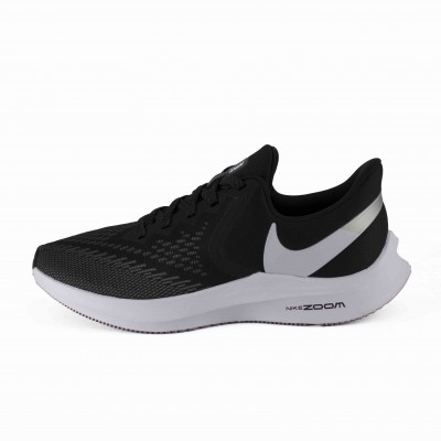 NIKE WMNS NIKE ZOOM WINFLO 6 BLACK WHITE DARK GREY