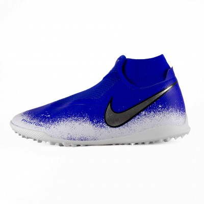 NIKE PHANTOM VSN ACADEMY DF TF RACER BLUE WHITE