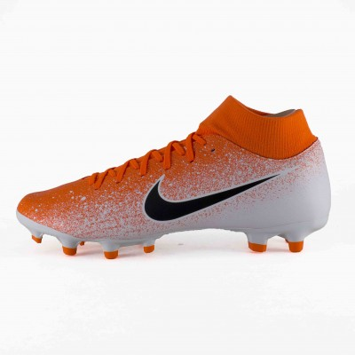 NIKE SUPERFLY 6 ACADEMY FG MG CRIMSON BLCK WH