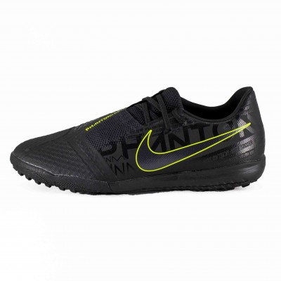 NIKE PHANTOM VEMON ACADEMY TF BLACK BLACK