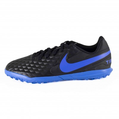 NIKE JR LEGEND 8 CLUB TF BLACK BLUE HERO