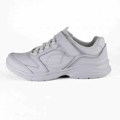 SKECHERS SPIRIT SPRINTZ SCHOOL PRINTZ WHITE