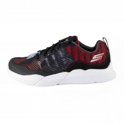 SKECHERS INTERSECTORS BLACK GREY RED
