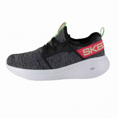 SKECHERS GO RUN FAST LIVELY BLACK MULTI