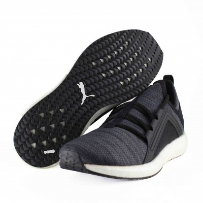 PUMA MEGA NRGY KNIT PUMA BLACK IRON GATE WHITE