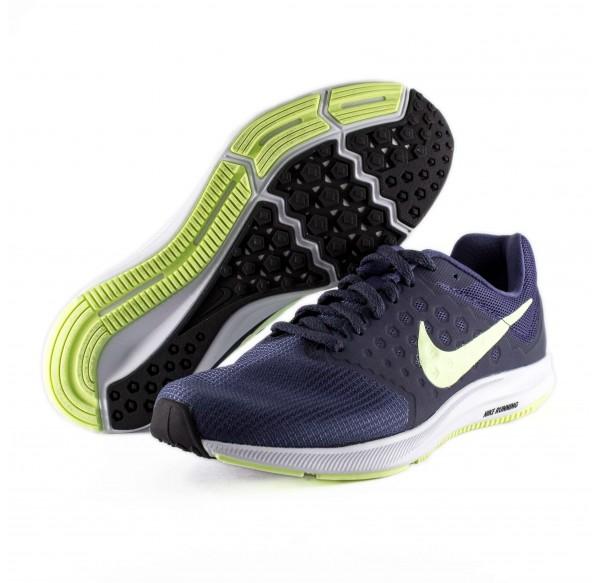 Preguntar Ortodoxo Relativamente  Tenis Azul Nike Downshifter 7 Blue Green